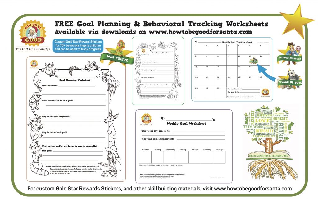 behavior tracking worksheets