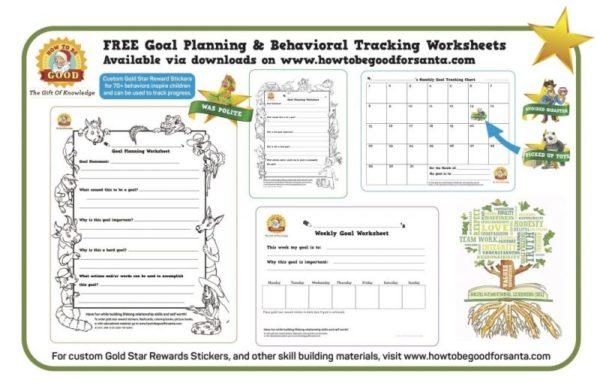 behavior tracking worksheets
