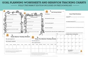 goal planning worksheets